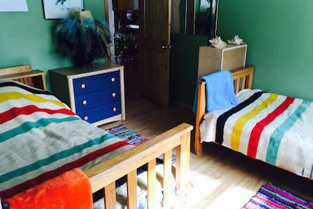 Cheerful, Affordable room w 2 beds! - Σπίτι