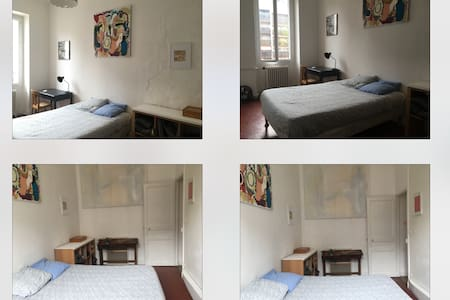 Little room in a spacious flat - Daire