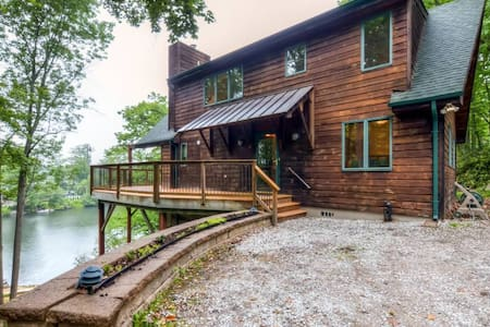Lakeside 3BR Highland Lakes Home w/Private Dock - Hus