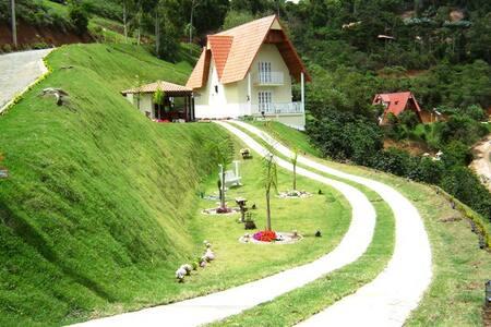 Casa nas montanhas em Domingos Martins- China Park - Domingos Martins