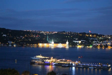 Peaceful Wooden House with Bosphorus View - Beşiktaş - Apartment
