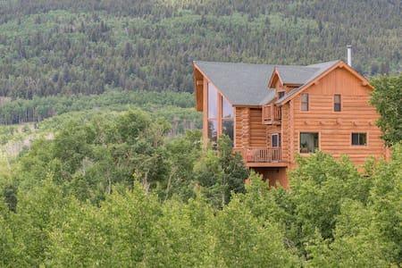 Beautiful Log Home 4 Master Suites! Ski at Breck! - Hus