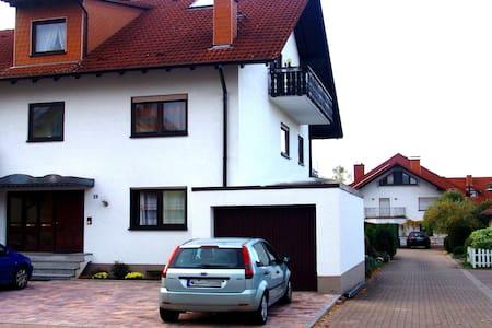 3 ZKBB Nähe Heidelberg/MA 2-6 Pers. Klima neu - Apartment