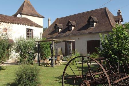 Corps de ferme rénovée, - Haus