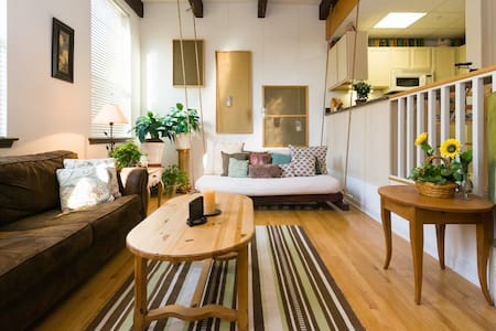 Sweet City Retreat! Luxury Art Loft - Royersford - Loft-asunto