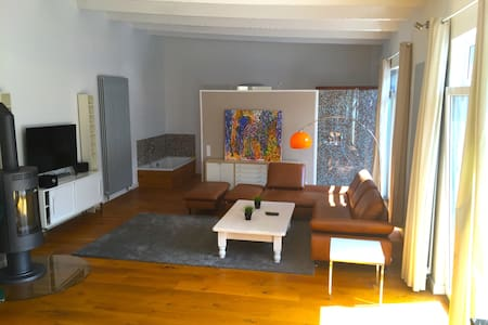 Designer Loft close to City Center - Brème