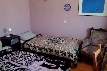 Twin room on ground floor, share amenities - Southwick - Hus