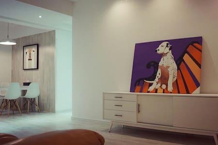 巨幅幕布北欧风公寓,1间卧室仅需要155元/晚,2间255元/晚,3间355元/晚,均为整套公寓。 - Leilighet