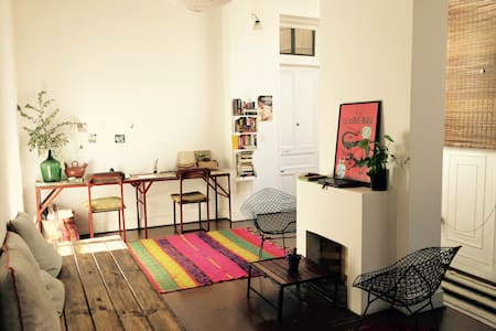 Cozy room w/pvt bathroom, old building, San Telmo. - Buenos Aires - Apartment