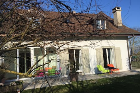 Maison calme aux portes de Genève - Maison