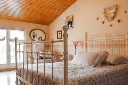 Chambre avec salle de bain et wc - Portet-sur-Garonne - Ev