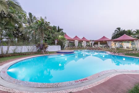 Premium Stays at Mapusa North Goa - Szoba reggelivel