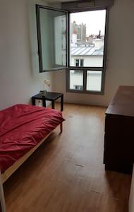 Chambre claire près de la Bastille - Appartement