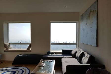 Your-Home-In-The-Sky-TLV! - Apartamento
