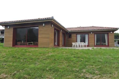 Maison bois au cœur du piémont pyrénéen - Talo