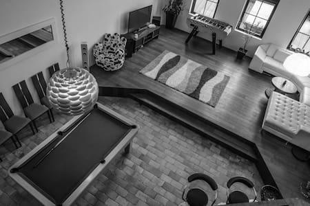 Beau loft, terrasse, Mc ArthurGlen, Centre Roubaix - Roubaix - Loft