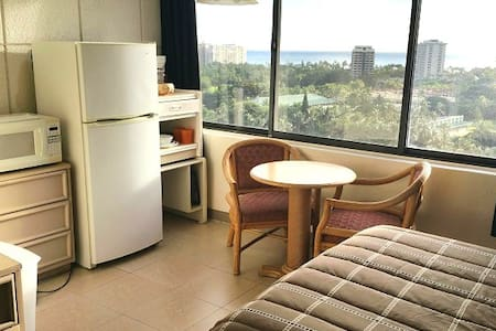 Furnished Waikiki Studio Ocean View