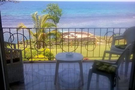 Private beach sea-front apartment  - Ocho Rios - Appartement