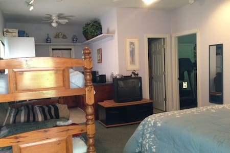 In Law Apt. 3 beds, full bath w/ kitchenette - Darlington