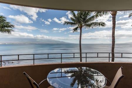 MAUI HI. OCEANFRONT 1BR 1BA CONDO  - Wailuku - Condominium