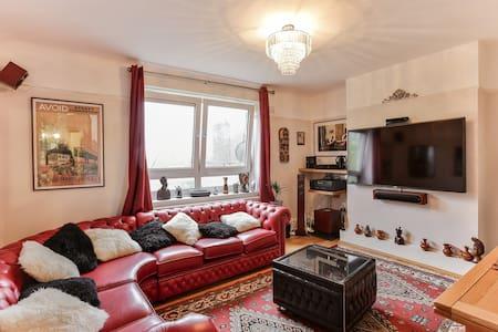 Warm 2 Bed Flat near Camden and Hampstead Heath - Londres - Apartamento