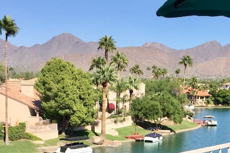 Fully Furnished Scottsdale Winter Rental w/ Views - Condominium