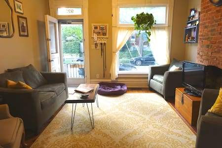 Charming Room in Short North Home - Casa