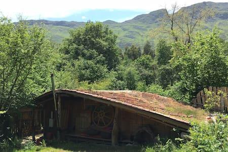 Cabaña de bosque falda del Cuera 4,5Km de la playa - La Pereda - Casa de campo