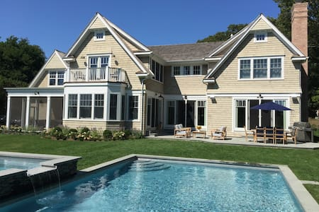 New Construction in Bridgehampton Horse Country - 獨棟