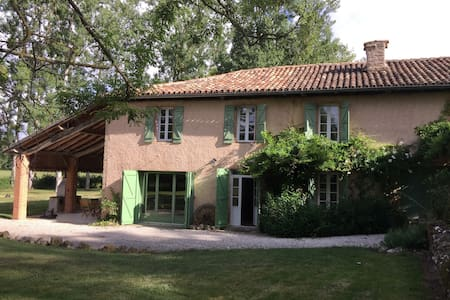 Countryside retreat with private swimming pool - Saint-Laurent
