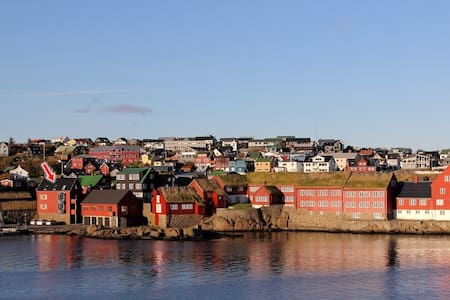 City centre location/harbour view - Tórshavn - Apartment
