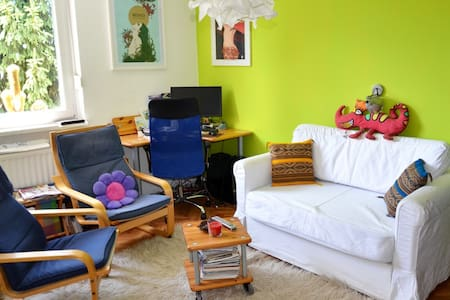 Cozy colorful apartment, free bikes/parking - Ljubljana
