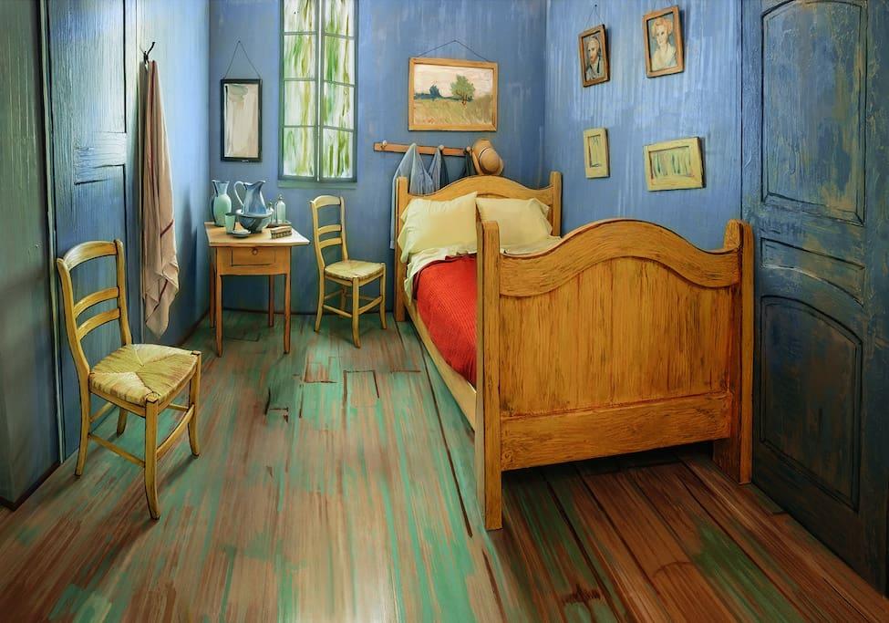 Van Gogh's Bedroom - Apartamentos para Alugar em Chicago
