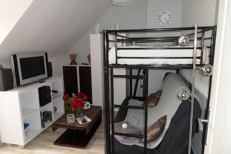 Chambre 1/3 personnes dans maison  à la campagne - Briarres-sur-Essonne - Huis
