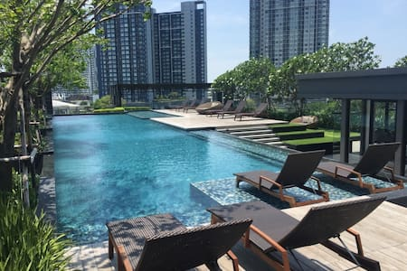 Your Nest in the Oasis, a place to enjoy your stay - Bangkok - Departamento