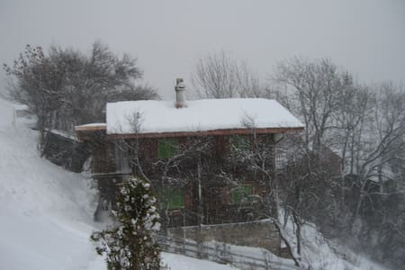 Bündnerhüsli - Rumah