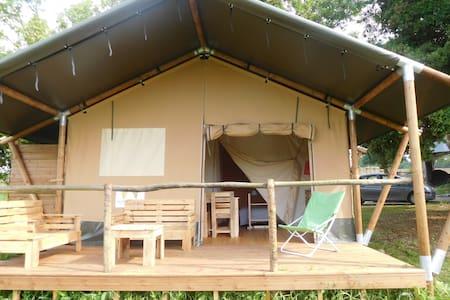 Tente Safari proche d'Eymet - Soumensac - Tent