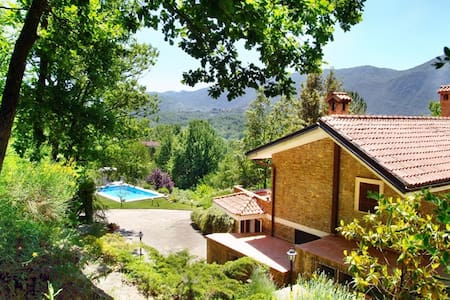 "Beautiful ""Villa Mimosa"" 50 km outside of Rome - Gerano - Vila"