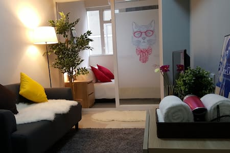 1 Min MTR Cozy APT in Tsim Sha Tsui - Hong Kong - Apartment