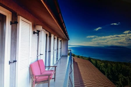 Cozy sea view apartment near Opatija (up to 6 prs) - Wohnung
