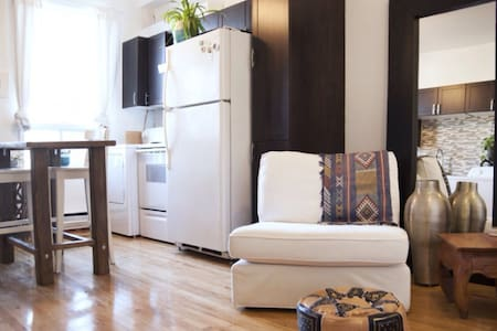 Cosy 1bdrm in the heart of Rosemont - Montréal - Apartment