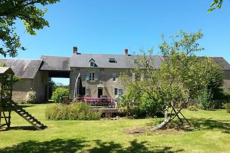 Longère en pierre - Sainte Mère Eglise - Normandie - Haus