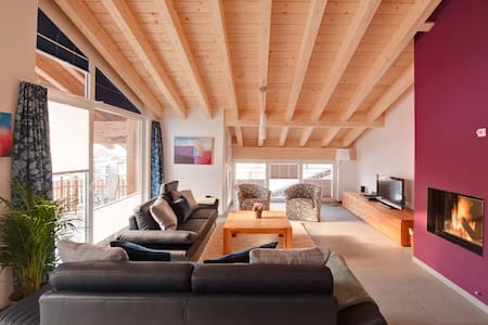 Powdersnow Loft - Matterhorn views, sleeps 6-7 - Zermatt - Loft