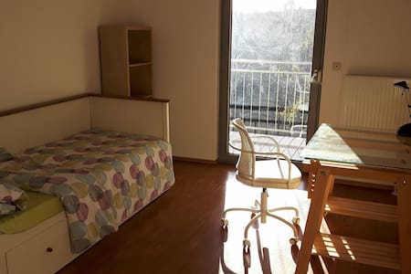 Gemütliches Zimmer mit Balkon in LU's Altstadt - Ludwigshafen am Rhein