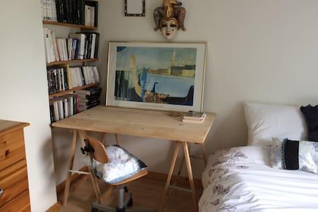 Chambre cosy calme, entre Chartreuse et Belledonne - Huis