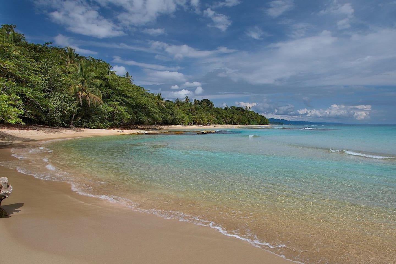 Playa Chiquita, a gorgeous beach cove, walking & biking distance from the casita.