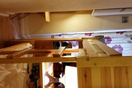 Single room bunk bed for 2 in Zone1