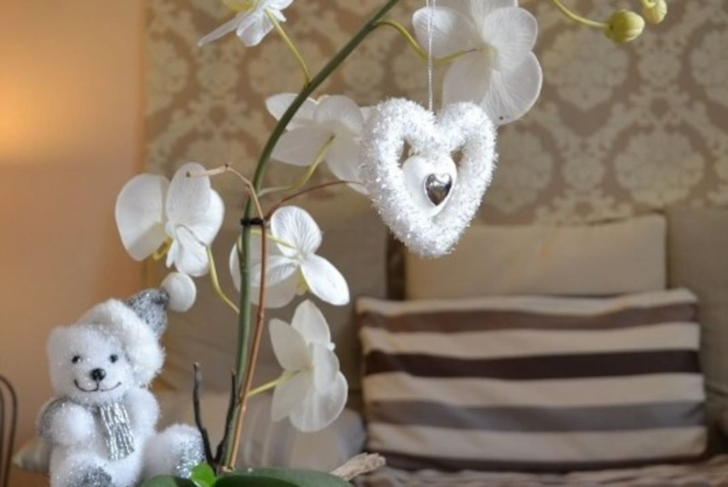 """HAPPY HOLIDAY SEASON AT THE LOVE NEST """"The Orchid""""!"""