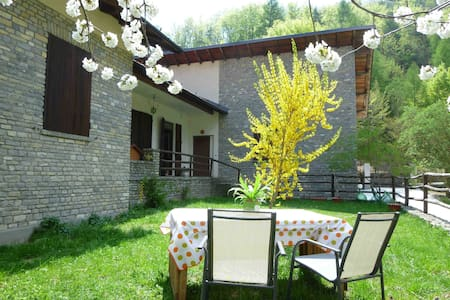 Garden apartment - Ligurian Alps - Ormea