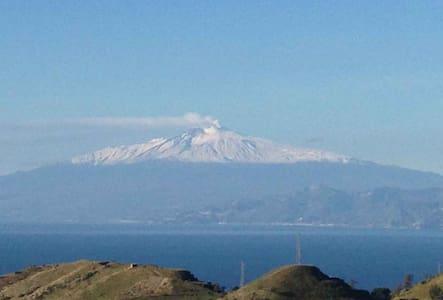 House with view of the Etna Volcan - Motta San Giovanni - Talo
